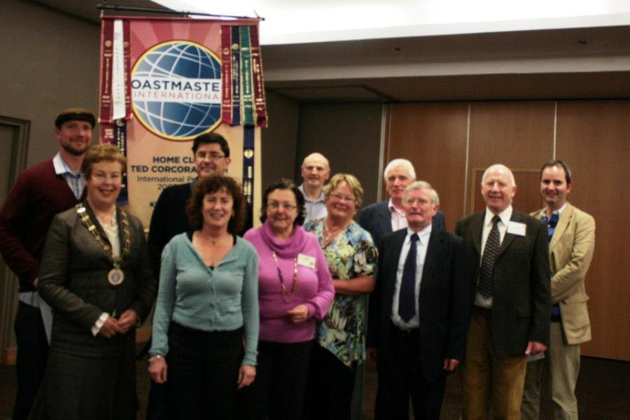 Humorous Speech and Table Topics Area Final Killarney - 9/10/12
