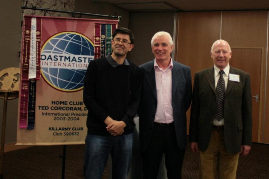 Humorous Speech and Table Topics Winners - Area Final Killarney – 9/10/12
