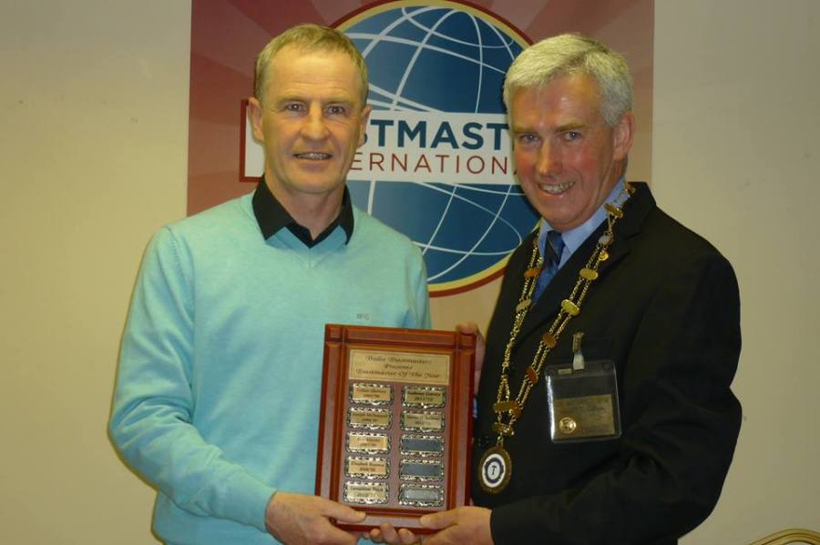 Toastmaster Of The Year 2012/2013 - 12/08/2013