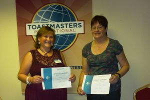 Vicky and Deidre - Area 36 Finals Winners, Humorous Speech and Table Topics